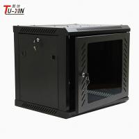 Buy cheap Network Enclosure Wall Mount Server Cabinet , Cold Rolled Steel 9u Server Rack from wholesalers
