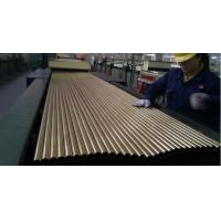 Buy cheap SEAMLESS BRASS TUBE ASTM B111 MATERIAL C44300 25.4MM*1.245MM*12995MM FOR product