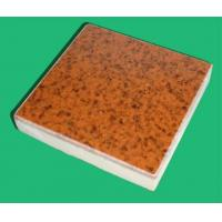 Buy cheap Compound Crystallized Glass Tile Indian Red from wholesalers