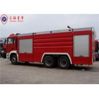 Wholesale 6x4 MAN Chassis Water Vacuum Tanker Fire Truck With Direct Injection Diesel Engine Euro 4 Emission from china suppliers