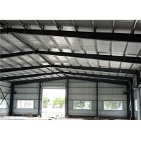 Buy cheap EPS Sandwich Panel Light Steel Structure Warehouse For Storage And Workshop product