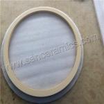 Buy cheap High purity alumina ceramic rings from wholesalers