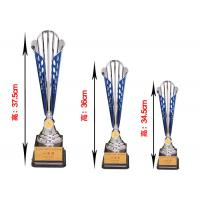 Buy cheap Creative Plastic Trophy Cup Red / Blue Color Hollow - Carved Designed from wholesalers