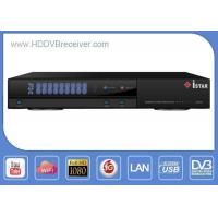 Buy cheap ISTAR IPTV IKS CCCam Account Sharing DVB HD Receiver 16 Bit DDRII 800 SDRAM from wholesalers