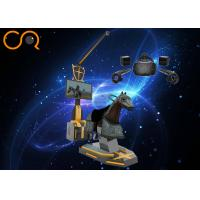 Horse Riding Desigh Virtual Reality Simulator With 360 Degree , 2100*1000*2000mm Size