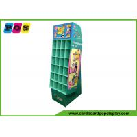 Buy cheap Promotional Cardboard Pop Displays With Small Pocket Cells And Base Stand POC037 from wholesalers