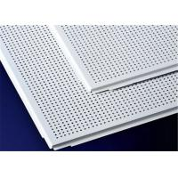 Buy cheap Easy Install Aluminum Suspended Ceiling Tiles 600 X 600mm / 600 X 1200mm from wholesalers
