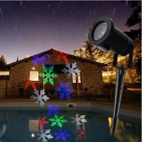 10W LED outdoor projector Christmas pattern holiday lighting christmas decorations Manufactures