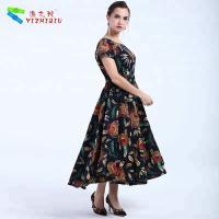 Wholesale YIZHIQIU black bohemian women dresses wholesale from china suppliers