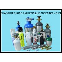 High Pressure Aluminum Gas Cylinders 0.22L-50L For Industrial Gases Or Specialty Gases Manufactures