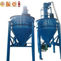Buy cheap Rubber Fiber Separator Waste Tyre Recycling Line Grinder Pulverization product