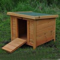 Buy cheap Rabbit Hutch/Cage with Lockable Entrance Door Ramp and Waterproofing Treatment from wholesalers