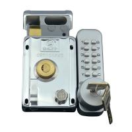 Buy cheap Outdoor / Indoor Mechanical Code Lock , Anti - Theft Door Iron Mechanical Number Lock from wholesalers