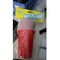 Buy cheap 16oz Durable Quality Beer Pong Cups Pack Kit Solo Cups and Ball, PS material, 473ml, red blue white or any pantone color from wholesalers