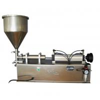 Buy cheap Automated Lotion Bottle Filling Machine , 6 Head Volumetric Piston Filler from wholesalers
