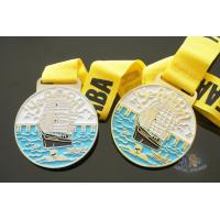Buy cheap Dragon Boat And Swimming Metal Gold Award Medals For Art Gifts Customized Shape from wholesalers