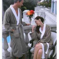 Buy cheap microfiber bathrobes, double fabrics bathrobes, robe, bathrobe from wholesalers