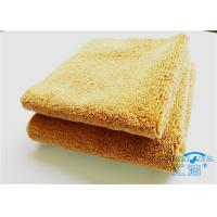 Quality 15mm High Pile Micro Fiber Cleaning Cloth Towel No Fading For Bathroom for sale