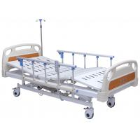 Buy cheap Professional Electric Hospital Bed With Rails 4 Inch Wheels 5 Functions Adjustable from wholesalers