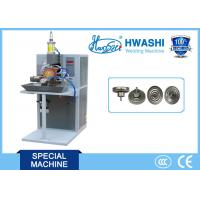 China HWASHI Capilliary Thermostat Roll Welding Machine / Seam Welding Equipment 780x1250x1800mm on sale
