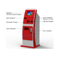 China Post Office Customer Service Kiosk , Magnetic Card Dispenser Recharge Payment Kiosks on sale