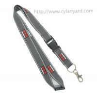 Buy cheap Printed logo business lanyards, employee id badge holder lanyards, from wholesalers