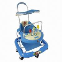 Buy cheap Baby Walker with Push Handle and Square Canopy  from wholesalers