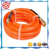 Buy cheap HT-6008 soft pvc air hose for dryer machine black Rubber Air Hose  with EPDM NR  NBR CR SBR material from wholesalers