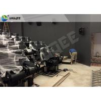 Buy cheap 5D Cinema System Dinosaur Box 9 Seats Luxury Chair Genuine Leather from wholesalers