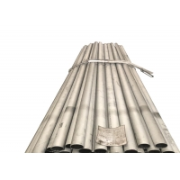 Buy cheap Customized Silvery Nickel Alloy Nimonic 80A (UNS N07080) Nickel Alloy Pipe with SGS from wholesalers