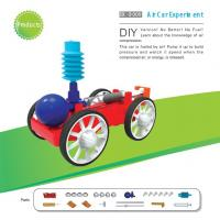 Buy cheap Classic School DIY Educational Toys Electronic Components , Non Toxic Air Car Toy from wholesalers