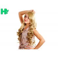 Buy cheap Attractive Design Synthetic Hair Wigs \ Non - Remy Hair Blonde Color from wholesalers
