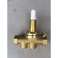 Buy cheap Brass water pressure reducing valve Working pressure PN16 , Adjustment 20~175PSI from wholesalers