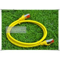 Buy cheap 20M RJ45 Cat6A SSTP Patch Cord 6 Colors 20Meters Cat6A Patch Cable Shielded Patch Lead from wholesalers