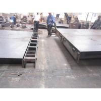 Buy cheap 8mm checker plate electronic Truck weighbridge scales with side rails 80 tons from wholesalers