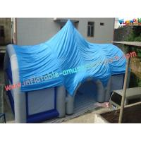 Buy cheap Custom PVC Inflatable Party Tent , Inflatable Dome Strcuture For Event product