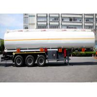 Buy cheap Liquefied Gas Semi-trailer / Gas Tanker Truck Capacity 36000L / 3 Axles/ Gas / from wholesalers
