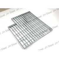 Buy cheap Irregular Shape Serrated Galvanized Steel Grating Metal Building Materials from wholesalers