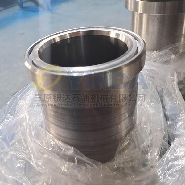 Quality Standard Piston 4 Inch Hardened Chrome Mud Pump Liner for sale