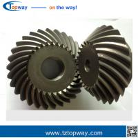 Buy cheap Farm machinery Precision bevel gears carburizing steel straight bevel gear from wholesalers