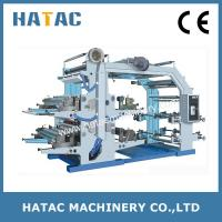 Buy cheap High Speed Paper Roll Printing Machine,Flexographic Paper Bag Printing Machine from wholesalers