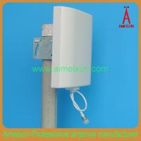 China Outdoor/Indoor 1.2GHz 10dBi Flat Panel Antenna Directional Wall Mount Antenna on sale