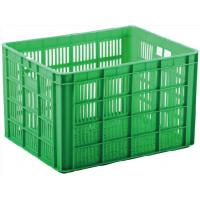Buy cheap Mesh Type  Plastic Storage Crate Lightweight Movable Easy Lifting And Carrying from wholesalers