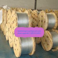 "Wholesale 1/4"" messenger wire as per ASTM A 475 from china suppliers"