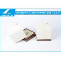 Pantone Color Printing Cosmetic Packaging Boxes , Square Paperboard Gift Boxes