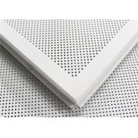 Buy cheap Integrated Suspended Aluminum Ceiling Sheet Roll Coated Commercial Ceiling Tiles from wholesalers