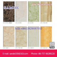 Buy cheap Fireproof and waterproof wall decorative UV  panels/board 2440*1220*6/8/9mm from wholesalers