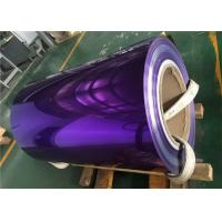 Buy cheap 1100 Alloy Polished Aluminum Sheet  Rich Color For Decoration Materials Used from wholesalers