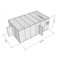 Buy cheap Modular Modular Cold Rooms Compressor Refrigeratied Big Capacity Cold Storage Warehouse from wholesalers
