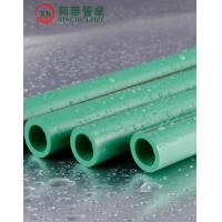 Buy cheap Green Polypropylene Random Copolymer Pipe / Heat Resistant Plastic Pipe Smooth Surface from wholesalers
